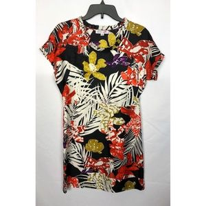See by Chloe White Multi Color Silk Floral Print 2